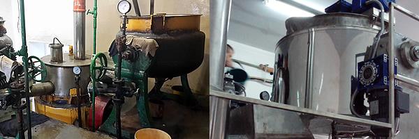 Реставрация паровых варочных котлов на кондитерском предприятии