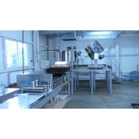 Формовочно охладительная резательная машина ФОРМ 550.10500